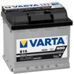 Acumulatori auto Varta – Black Dynamic 45 Ah EN 400