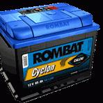 Baterie auto Rombat Cyclon Calciu 66 Ah