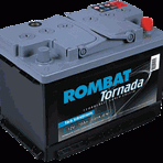 Baterie auto Rombat Tornada 45 Ah
